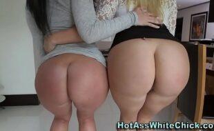 Duas mulheres bem gostosas fazendo um sexo a três com um cara bem dotado