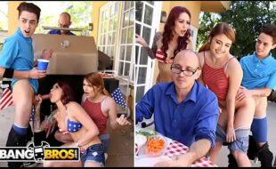 Pornohub mostra jovem comendo coroa e sua filha deliciosa