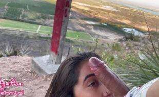 Novinha casada fodendo com amante gostoso na barragem de sobradinho